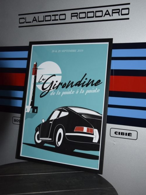 affiche déco Prints Porsche 912
