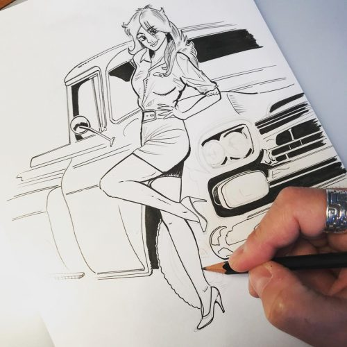 Illustrations Gregory Ronot Pick up