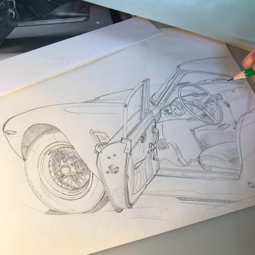 Illustrations Gregory Ronot 250 GTO