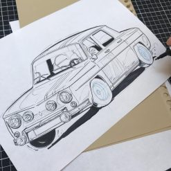 Illustrations preview Grégory Ronot R8 Gordini