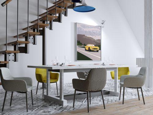 Affiche Ferrari 250swb