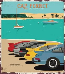 Porsche Classic Cap Ferret 35x40