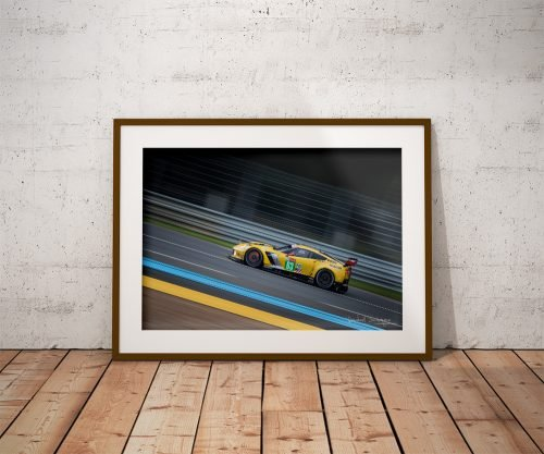 Photo Raphaël Dauvergne Chevrolet Corvette C7R
