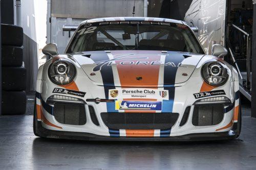 Bache déco Porsche Club Motorsport