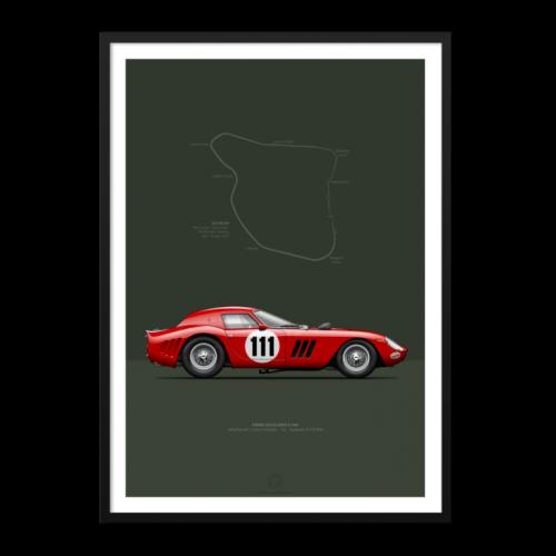 Last Corner Ferrari 250 GTO 1964