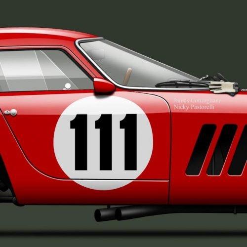 Last Corner Ferrari 250 GTO