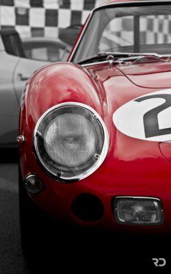 Photo Raphaël Dauvergne Ferrari 250 GTO Le Mans