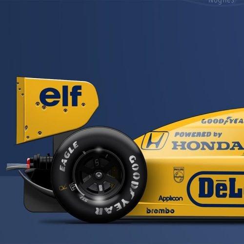 Formule1 Last Corner LOTUS-99T-1987