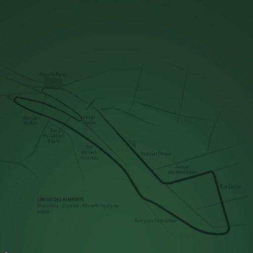 Circuit Illustration Last Corner Lotus-7-S2-1962