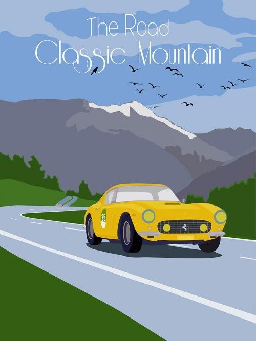 Affiche Ferrari 250 SWB