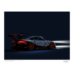 Illustration Last Corner Porsche-911-GT3R-SPA-2019-Spa-4050-L