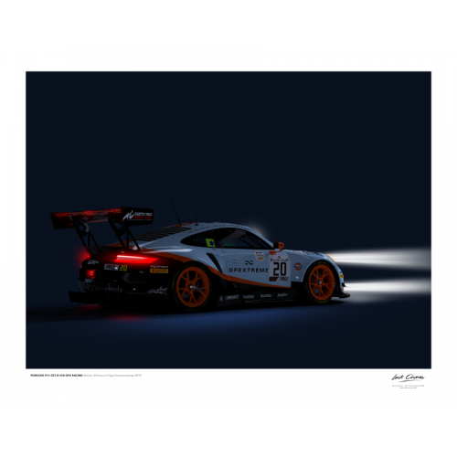 Illustration Last Corner Porsche-911-GT3R-SPA-2019-Spa-4050-L