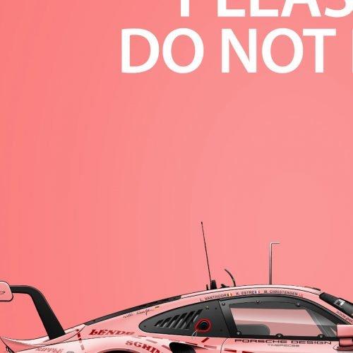 Affiche Last Corner Porsche 911 RSR