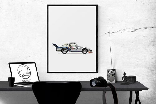 Illustration Last Corner Porsche 935 A2