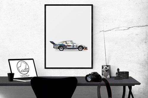 Illustration Last Corner Porsche 935 A2