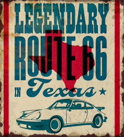 Porsche Legendary route 66