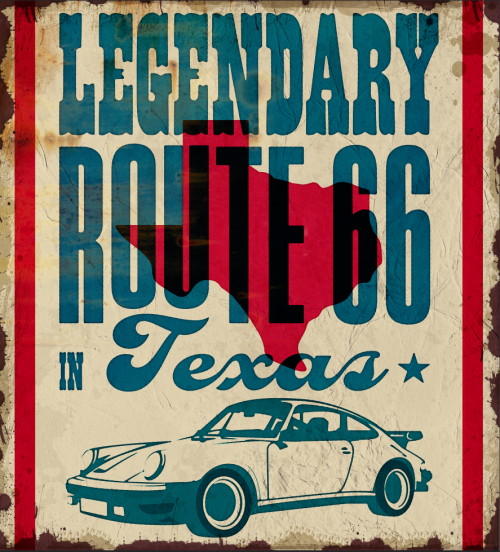 Porsche Legendary route 66
