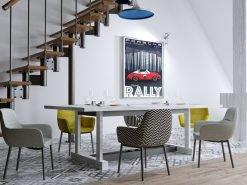 Affiche Poster déco Porsche 911 Targa