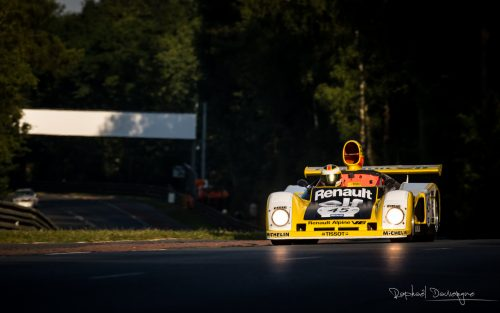 Photo Raphaël Dauvergne Alpine A443 Le Mans