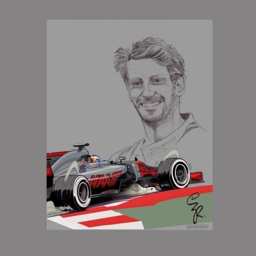 Illustrations Grégory Ronot Romain Grosjean