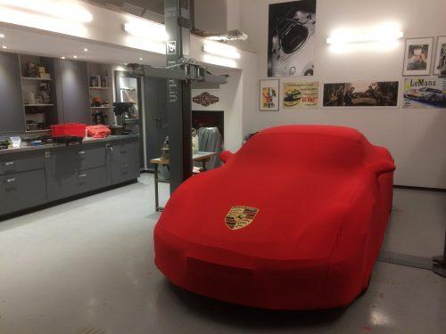 Couverture Automobile Dustcover Porsche Boxster