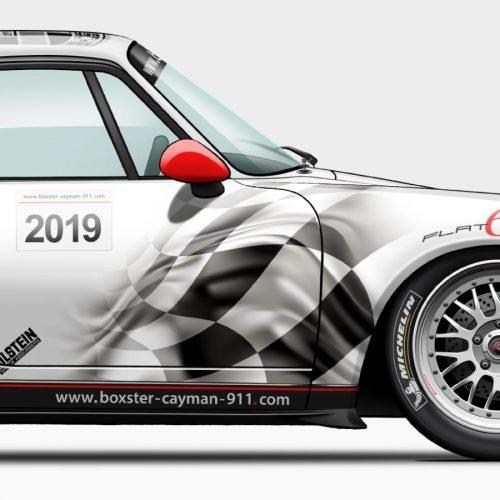 affiche Last Corner Porsche 993 Forum BC911