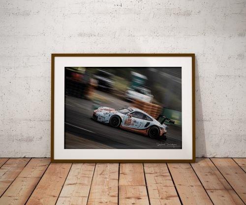 Raphael Dauvergne Porsche 911 RSR Le Mans