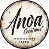 Plaque metal Anoa Creations