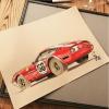 Illustrations Grégory Ronot Ferrari 365 Daytona